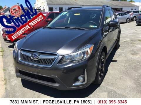 2017 Subaru Crosstrek for sale at Strohl Automotive Services in Fogelsville PA
