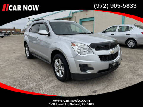 2015 Chevrolet Equinox for sale at Car Now Dallas in Dallas TX