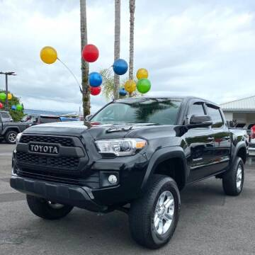 2016 Toyota Tacoma for sale at PONO'S USED CARS in Hilo HI