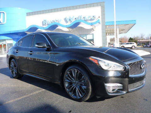 2016 Infiniti Q70 for sale at RUSTY WALLACE HONDA in Knoxville TN