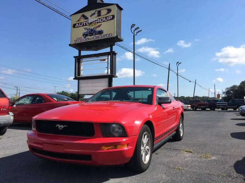2007 Ford Mustang for sale at A & D Auto Group LLC in Carlisle PA