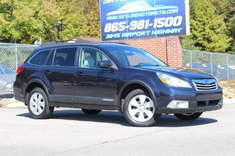 2012 Subaru Outback for sale at Skyline Motors in Louisville TN
