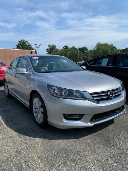2013 Honda Accord for sale at City to City Auto Sales in Richmond VA