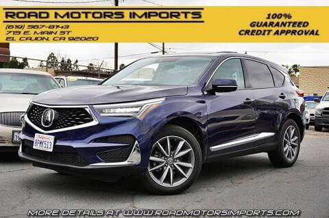 2019 Acura RDX for sale at Road Motors Imports in El Cajon CA