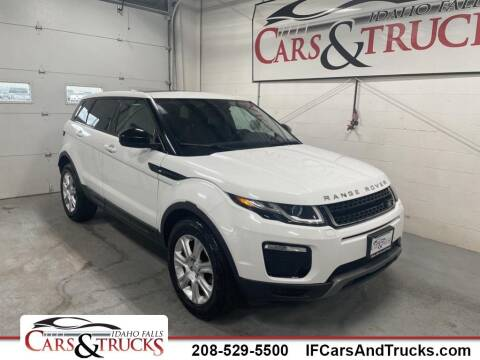 2019 Land Rover Range Rover Evoque for sale at Idaho Falls Cars and Trucks in Idaho Falls ID