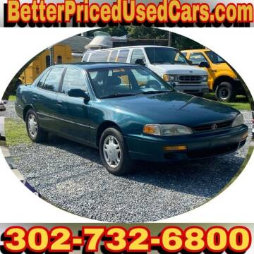 1996 Toyota Camry for sale at Better Priced Used Cars in Frankford DE