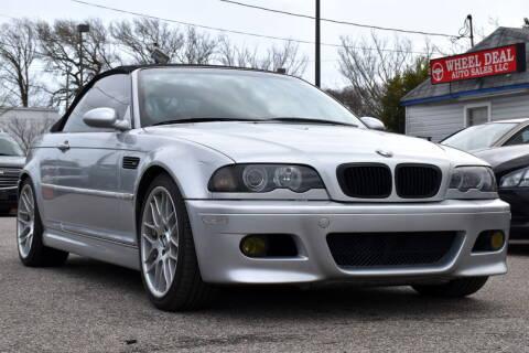 2002 BMW M3 for sale at Wheel Deal Auto Sales LLC in Norfolk VA