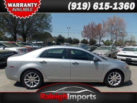 2011 Chevrolet Malibu for sale at Raleigh Imports in Raleigh NC