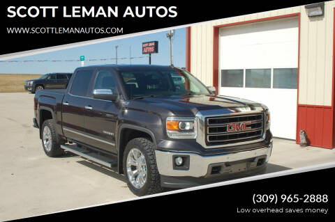 2014 GMC Sierra 1500 for sale at SCOTT LEMAN AUTOS in Goodfield IL