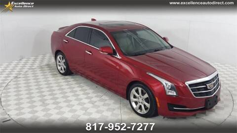 2015 Cadillac ATS for sale at Excellence Auto Direct in Euless TX