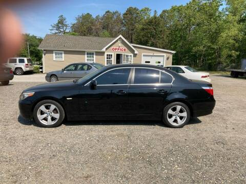 2006 BMW 5 Series for sale at MIKE B CARS LTD in Hammonton NJ