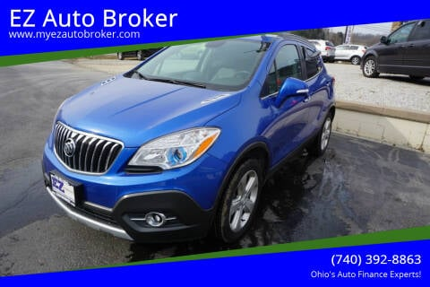 2015 Buick Encore for sale at EZ Auto Broker in Mount Vernon OH