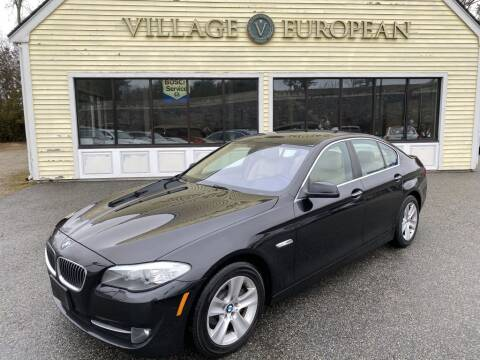 2013 BMW 5 Series for sale at Village European in Concord MA