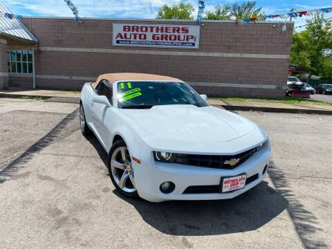 2011 Chevrolet Camaro for sale at Brothers Auto Group in Youngstown OH
