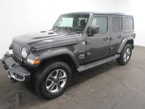 2020 Jeep Wrangler Unlimited for sale at Automotive Connection in Fairfield OH