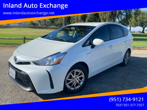 2017 Toyota Prius v for sale at Inland Auto Exchange in Norco CA