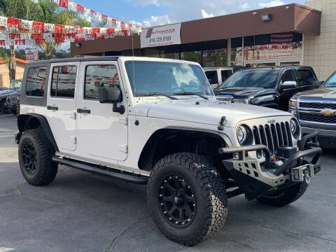 2010 Jeep Wrangler Unlimited for sale at Automaxx Of San Diego in Spring Valley CA