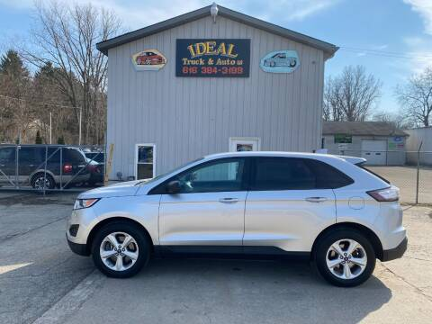 2015 Ford Edge for sale at IDEAL TRUCK & AUTO LLC in Coopersville MI
