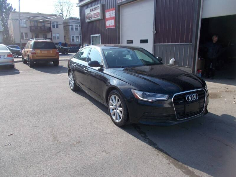 2015 Audi A6 for sale at Mig Auto Sales Inc in Albany NY