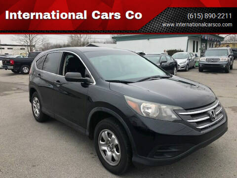2014 Honda CR-V for sale at International Cars Co in Murfreesboro TN