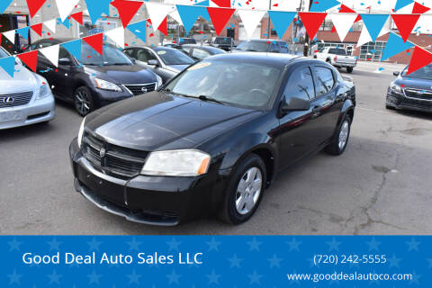 2010 Dodge Avenger for sale at Good Deal Auto Sales LLC in Denver CO