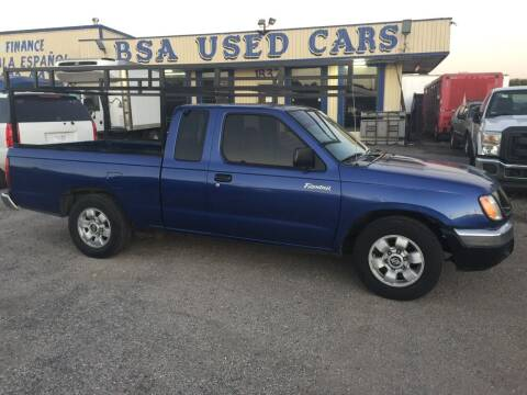 1999 Nissan Frontier for sale at BSA Used Cars in Pasadena TX