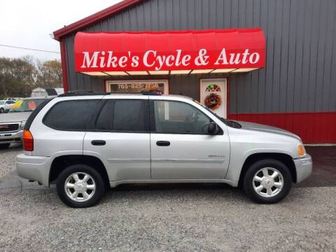 2006 GMC Envoy for sale at MIKE'S CYCLE & AUTO in Connersville IN