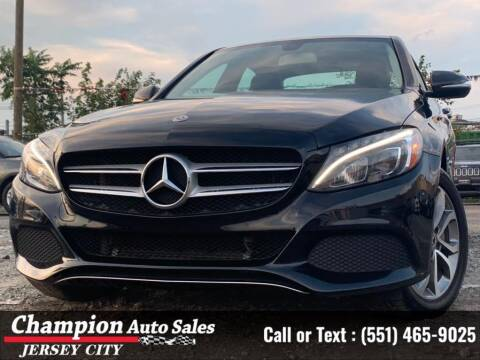 2015 Mercedes-Benz C-Class for sale at CHAMPION AUTO SALES OF JERSEY CITY in Jersey City NJ