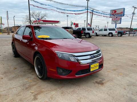 2012 Ford Fusion for sale at Russell Smith Auto in Fort Worth TX