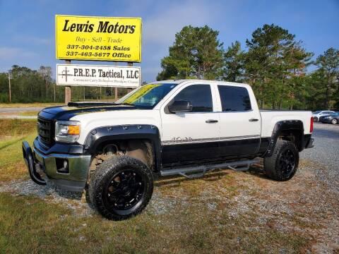 2014 GMC Sierra 1500 for sale at Lewis Motors LLC in Deridder LA