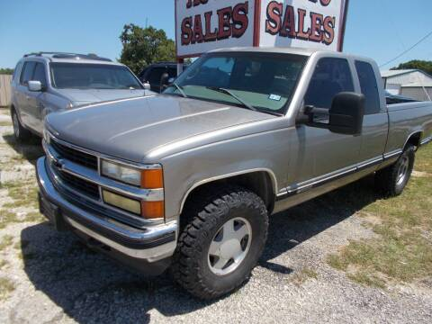 1998 Chevrolet C/K 1500 Series for sale at OTTO'S AUTO SALES in Gainesville TX