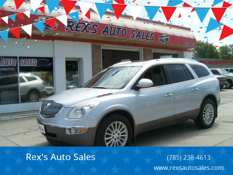 2009 Buick Enclave for sale at Rex's Auto Sales in Junction City KS