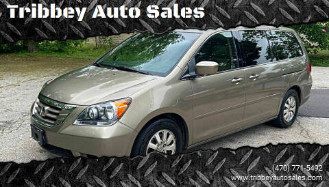 2008 Honda Odyssey for sale at Tribbey Auto Sales in Stockbridge GA