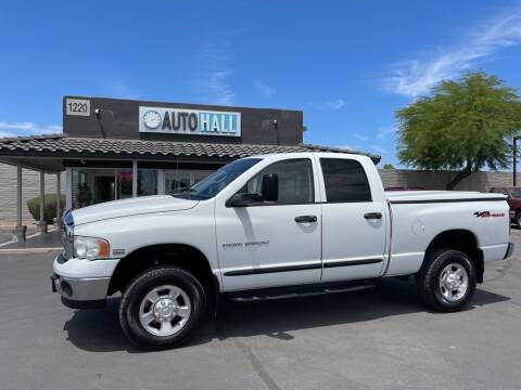2004 Dodge Ram Pickup 2500 for sale at Auto Hall in Chandler AZ