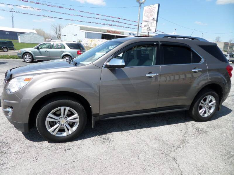 2010 Chevrolet Equinox for sale at Budget Corner in Fort Wayne IN