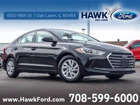 2017 Hyundai Elantra for sale at Hawk Ford of Oak Lawn in Oak Lawn IL