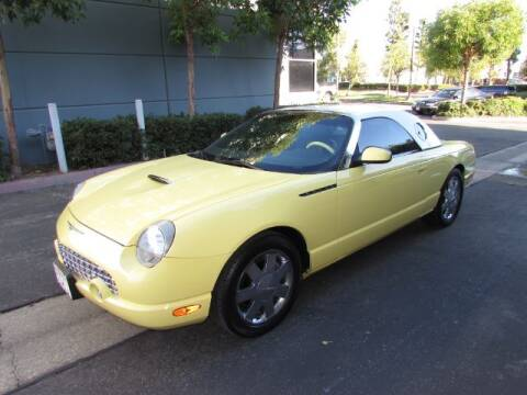 2002 Ford Thunderbird for sale at Pennington's Auto Sales Inc. in Orange CA