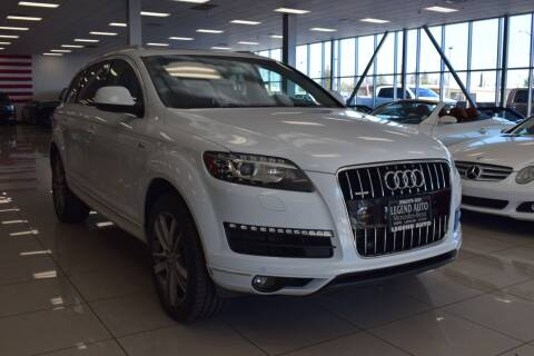 2014 Audi Q7 for sale at Legend Auto in Sacramento CA