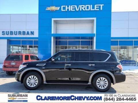 2019 Nissan Armada for sale at Suburban Chevrolet in Claremore OK