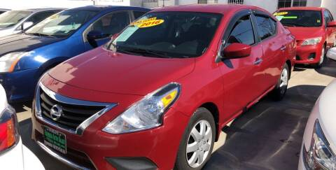 2016 Nissan Versa for sale at Express Auto Sales in Los Angeles CA