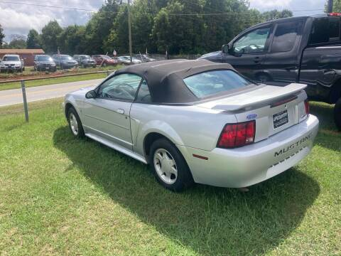 2003 Ford Mustang for sale at UpCountry Motors in Taylors SC