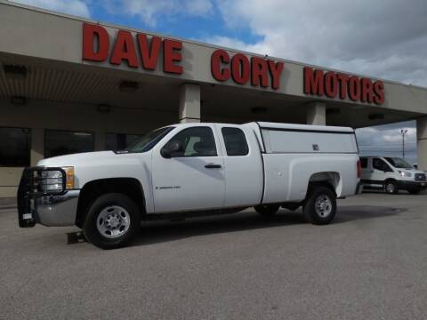 2008 Chevrolet Silverado 2500HD for sale at DAVE CORY MOTORS in Houston TX
