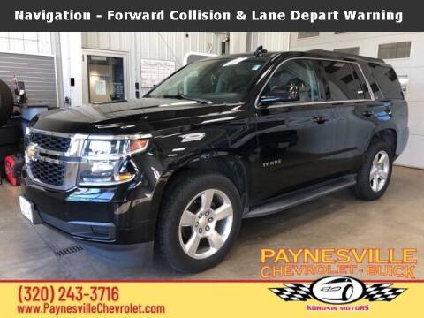 2015 Chevrolet Tahoe for sale at Paynesville Chevrolet Buick in Paynesville MN