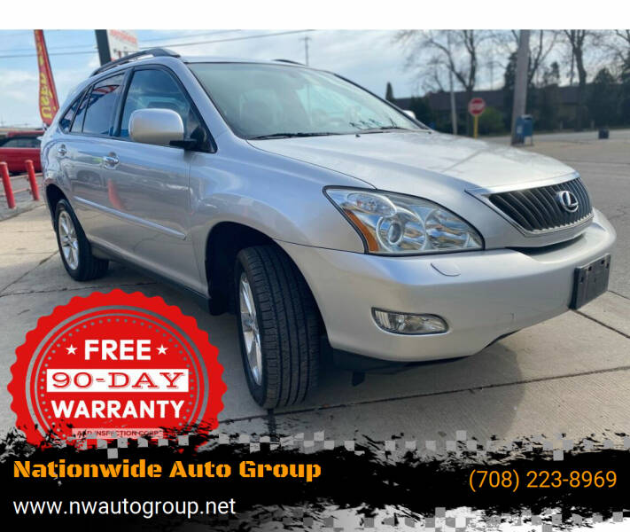 2009 Lexus RX 350 for sale at Nationwide Auto Group in Melrose Park IL