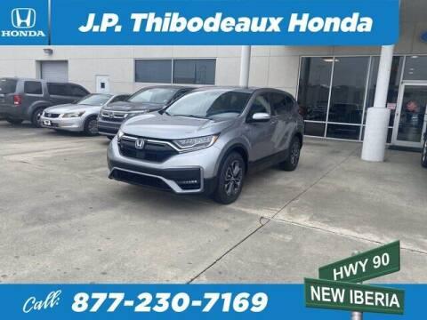 2021 Honda CR-V Hybrid for sale at J P Thibodeaux Used Cars in New Iberia LA