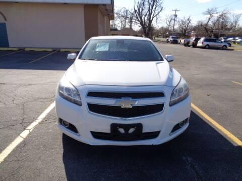 2013 Chevrolet Malibu for sale at AUTO PRO in Oklahoma City OK