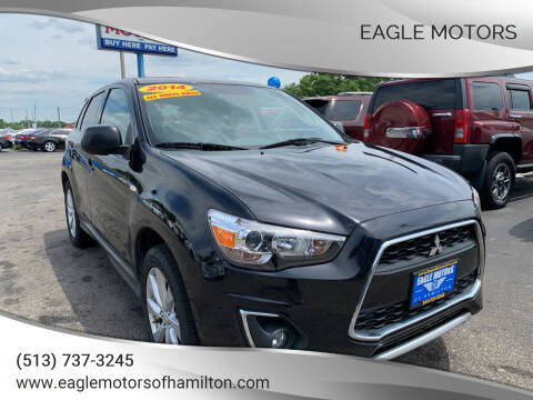 2014 Mitsubishi Outlander Sport for sale at Eagle Motors in Hamilton OH