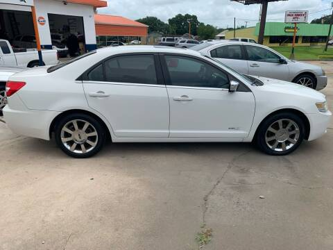 2008 Lincoln MKZ for sale at Uncle Ronnie's Auto LLC in Houma LA
