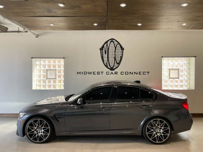 2018 BMW M3 for sale at Midwest Car Connect in Villa Park IL
