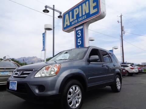 2006 Honda CR-V for sale at Alpine Auto Sales in Salt Lake City UT